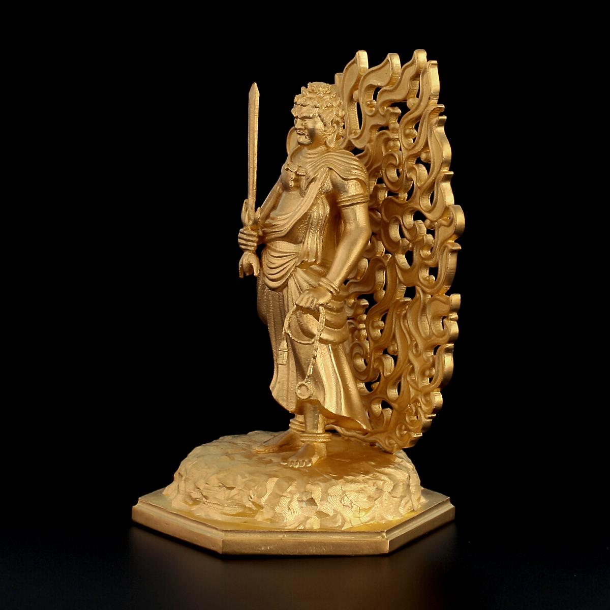 純金製 不動明王立像